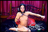 Cam: Webcam self bondage show