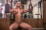 female bodybuilder huge labia