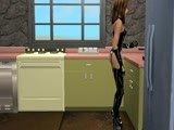 SIMS2 - SEXY LATEX BABE
