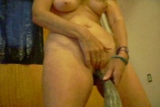 milf fucking a bull horn