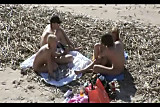 Group sex on a beach