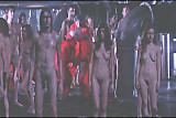 nude people on theatre stage