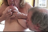 Natural Big Tits Mature Martiddds Sucks Own Nipples