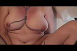 Sexslavewife Nipple chains