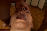 WIFE takes 6 cums in mouth
