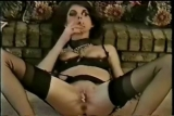 Milf stripping and smoking