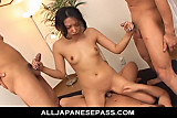 Hot MILF Chris Ozawa in her suit banged hard